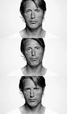 Mads Mikkelsen: the next man added to my ever growing list of unconventionally good looking men. Right up there with Benedict Cumberbatch. Mads is good looking in a very strange way. Most Beautiful Man, Gorgeous Men, Beautiful People, Hannibal Cast, Hannibal Lecter, Hannibal Anthony Hopkins, Film Trilogies, Hugh Dancy, Mads Mikkelsen