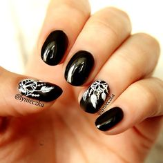 Instagram media lynieczka - Dreamcatcher  #nail #nails #nailart