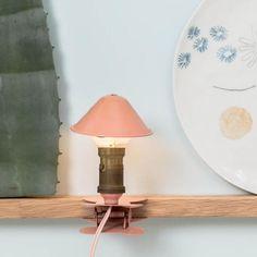 Lampe à clipper vintage