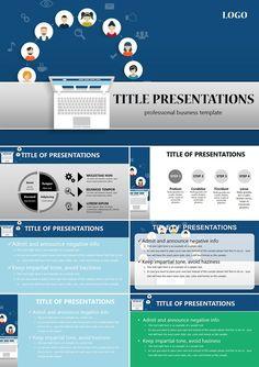 Social Media Analytics PowerPoint templates