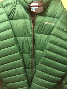 NWT Mens Green Columbia Frost Fighter Winter Jacket XXL  Columbia  Parka  Columbia Parka 8bdac6384