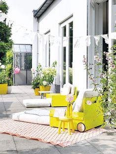 ChicDecó: | DIY outdoor armchairs