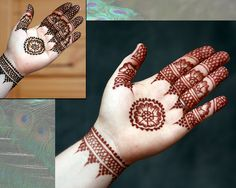Paste on, paste off.  Crimson Art Henna
