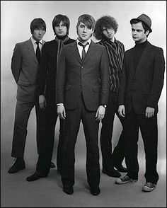 Kaiser Chiefs, whose songs show heavy influence from the mod revival of the 70s, the post-punk of the 80s, and the Britpop of the 90s.