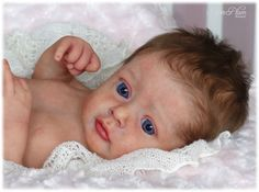 5ed3ac871e633 SUGAR PLUM NURSERY  Reborn  PROTOTYPE  baby girl doll - CHLOE by NATALI  BLICK