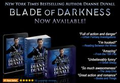 "BLADE OF DARKNESS is Now Available in #paperback, #ebook and #audiobook! Return to the ""utterly addictive"" (RT Book Reviews) Immortal Guardians. https://www.amazon.com/gp/product/B073V23CGT/ref=as_li_tl?ie=UTF8&camp=1789&creative=9325&creativeASIN=B073V23CGT&linkCode=as2&tag=dianduva-20&linkId=39e2eb34e792c44bcf85de867b0b12b2 #paranormalromance #action #humor #comedy #mustreadbook #mustread"