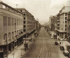 1957 ~ Panepistimiou Ave, Athens