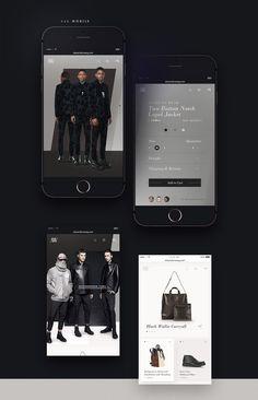 Alexander Wang - Fashion Website   Abduzeedo Design Inspiration
