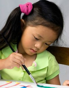 Great tips on using art therapy to help kids with ADHD