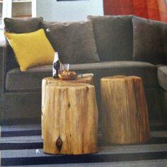 Rustic  wood tables