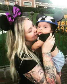 Mama and Mickey! Kailyn Lowry's Baby Boy Visits Disneyland for the FirstTime