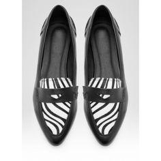 Mokasyny Stella Zebra Flats