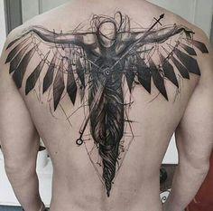 Engel Tattoos Angel Tattoos – Tattoo Spirit Plus Tattoos Masculinas, Engel Tattoos, Badass Tattoos, Fake Tattoos, Unique Tattoos, Body Art Tattoos, Sleeve Tattoos, Tatoos, Awesome Tattoos