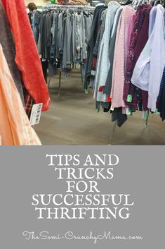 Learn all about making the most of your thrift store trips! Find out my best #lifehacks for #thrifting and #frugalliving