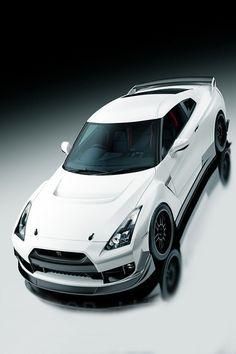Visit The MACHINE Shop Café... ❤ Best of Nissan @ MACHINE ❤ (Nissan Skyline GT-R R35 Coupé)