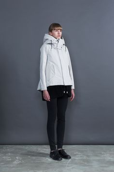 THE RERACS│ザ・リラクス / RERACS M65 SHORT MODS COAT WITH LINER (WHITE)