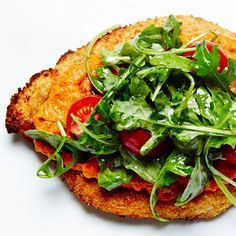 Chicken Milanese with Arugula and Rosee Sauce recipe #BiteMeMore