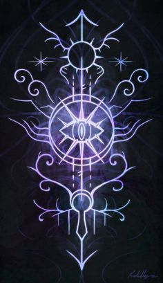 "sigilseer: ""Sigil of the Open Way This sigil is meant to facilitate any practice that requires piercing the veil, extra-sensory perception, and traveling or viewing things far away from one's body or outside of consensus reality. """