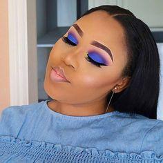 Change your make up depend on your mood! Check our bio link out for more hair info Flawless Makeup, Gorgeous Makeup, Glam Makeup, Love Makeup, Hair Makeup, Classy Makeup, Makeup Eyeshadow, Makeup Brushes, Contouring Makeup