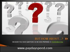 www.paydayspeed.com is transient credits. One genuinely fantastic ordinary for e