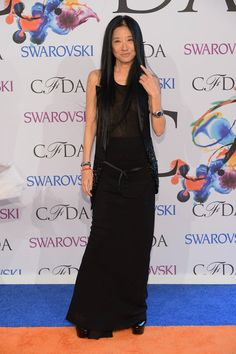 All the Looks From the CFDA Awards - Elle - Vera Wang in Vera Wang