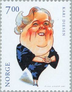 Kari Diesen (1914-87) Actors, Karate, Norway, Disney Characters, Fictional Characters, Snow White, Stamps, History, Disney Princess