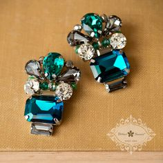Bitter Sweet jewellery. Statement Necklace. #FashionTrend #Bold #Stylish #Teal #blue #green #Classic #holiday #winter #crystal