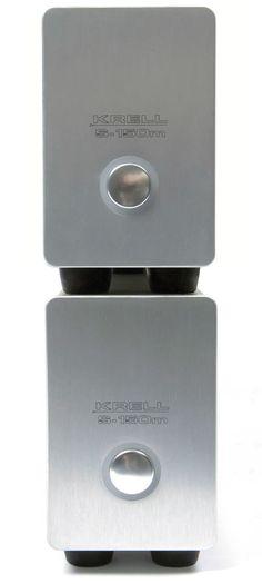Krell S-150m monobloc amplifiers