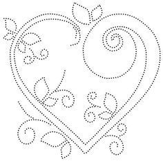 The Latest Trend in Embroidery – Embroidery on Paper - Embroidery Patterns String Art Templates, String Art Patterns, Embroidery Cards, Embroidery Patterns, Punched Tin Patterns, Candlewicking Patterns, String Art Diy, Quilting Stencils, Dot Art Painting