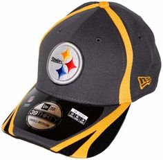 3f1074775 Pittsburgh Steelers New Era 39THIRTY 2014 Official Training Hat - Graphite Pittsburgh  Steelers Hats