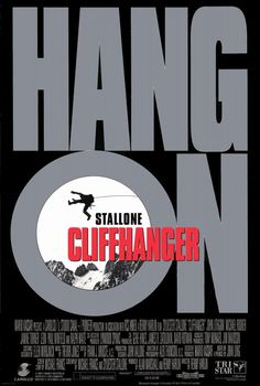 Cliffhanger , starring Sylvester Stallone, John Lithgow, Michael Rooker, Janine Turner. A botched mid-air heist results in suitcases full of cash being searched for by various groups throughout the Rocky Mountains. #Action #Adventure #Thriller