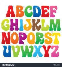 Image result for english art fonts for kids