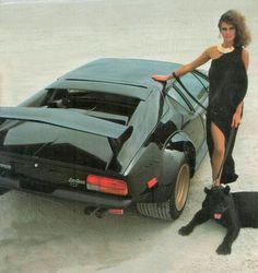 De Tomaso Pantera with Model & Panther