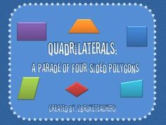 free- Geometry Quadrilaterals Mini-Lesson PowerPoint