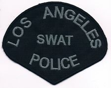 LAPD LOS ANGELES CALIFORNIA POLICE SWAT TEAM PATCH