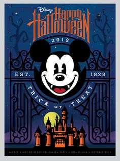 to ] Great to own a Ray-Ban sunglasses as summer gift.Disney Halloween Posters by Torch Creative , via Behance Disney Halloween, Fröhliches Halloween, Mickey Mouse Halloween, Halloween Poster, Halloween Pictures, Halloween Illustration, Images Disney, Disney Pictures, Disney Fun