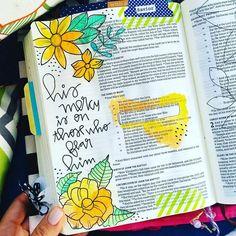 Bible Journaling by @dejesusraquel