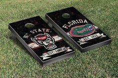 Hot new product: SPLIT NC STATE WO... Buy it now! http://www.757sc.com/products/split-nc-state-wolfpack-uf-gators-banner-vintage-setwith-2-sets-of-4-team-color-bags-with-2-sets-of-4-team-color-bags?utm_campaign=social_autopilot&utm_source=pin&utm_medium=pin