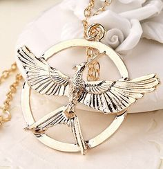 Hunger Games Mock Bird Pendant Necklace