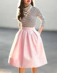 Resultado de imagen para falda moderna 2016