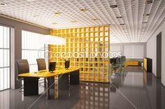 render 3d interior oficina moderna — Imagen de stock #2595928