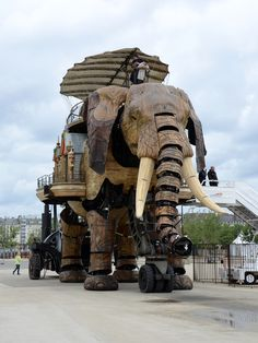 The Machines de lIle - The Great Elephant