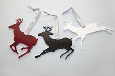 Joulukoristeita // Christmas decorations Moose Art, Christmas Decorations, Animals, Animales, Animaux, Animal, Animais, Christmas Decor, Christmas Tables