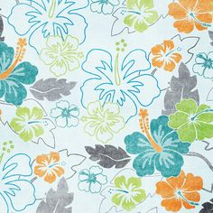 Tropical Flowers Paper