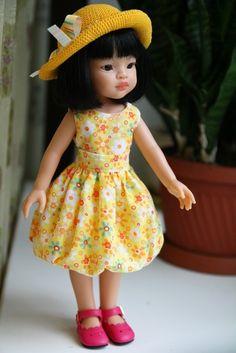 Солнечные дни. Paola Reina 32 см / Paola Reina, Antonio Juan и другие испанские куклы / Бэйбики. Куклы фото. Одежда для кукол