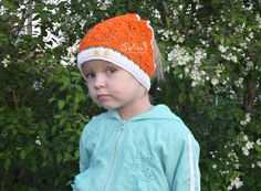 Hat for girls 1.5 - 2,5 years old by FloralCap on Etsy