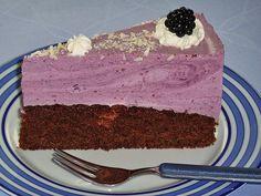 Brombeer-Joghurt-Torte (Rezept mit Bild) von kleinehobbits   Chefkoch.de