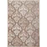 Found it at Wayfair - Fables Taupe/Green Floral Area Rug