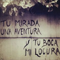 Y siiiii . Wall Quotes, Me Quotes, Street Quotes, Frases Love, Quotes En Espanol, Love Phrases, Mo S, Love Quotes For Him, Love Notes