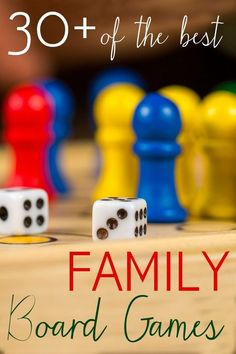 Looking for board games for your family? Here is a list of great board games that you can use as a board game gift guide, ages 3 to adult.